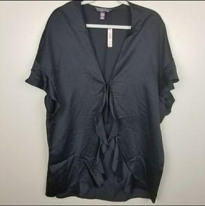 VS tie front robe NWT
